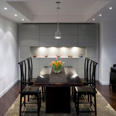 Contemporary Dining Room by WNUK SPURLOCK Architecture