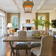 Traditional Dining Room by Anne Decker Architects, LLC