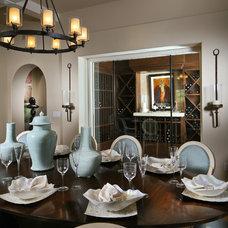Mediterranean Dining Room by London Bay Homes
