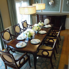 Traditional Dining Room by Chic Abode Interiors, LLC