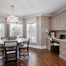 Traditional Dining Room by Abruzzo Kitchen & Bath