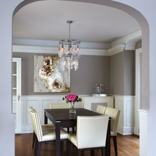 Contemporary Dining Room by SC Home