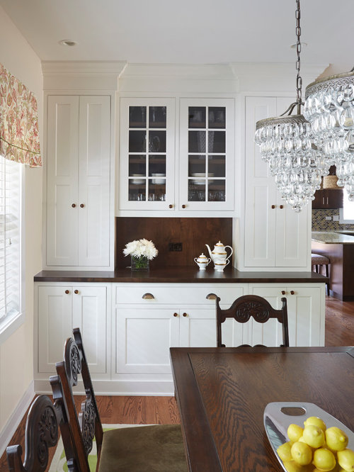 Chicago Bungalow Built-in Dining Room Buffet By Fred M Alsen