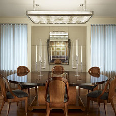 Contemporary Dining Room by Rugo/ Raff Ltd. Architects