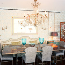 Contemporary Dining Room by Bardes Interiors