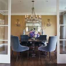 Eclectic Dining Room by Stephanie Wohlner Design