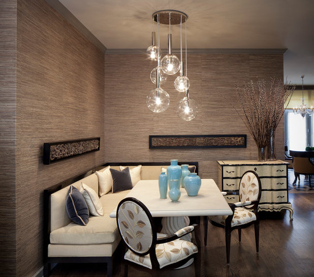 no room for a dining area install a banquette