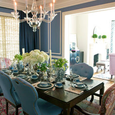 Traditional Dining Room by Summer Thornton Design, Inc