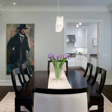 Contemporary Dining Room by McWilliams Burgener Architecture