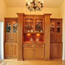 Traditional Dining Room by The Mirror Gallery, Kitchen and Bathroom Showroom