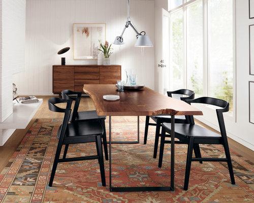 modern rug under dining table home design ideas photos