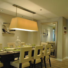 Asian Dining Room by Arkitec2ra Design Group