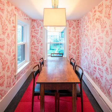 Chinatown Toile in Soft Red