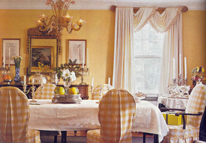 Traditional Dining Room by Christina Haire Interior Design