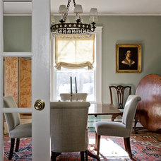Traditional Dining Room by Christine Tuttle Interior Design