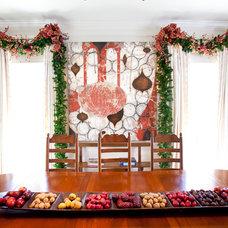 Mediterranean Dining Room by Regina Gust Designs