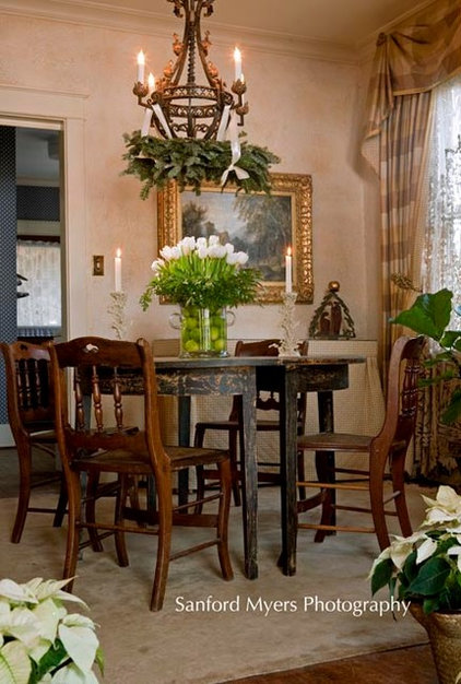 Traditional Dining Room by Leland Interiors, LLC