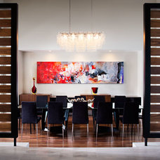 Contemporary Dining Room by Charco DESIGN & BUILD Inc.