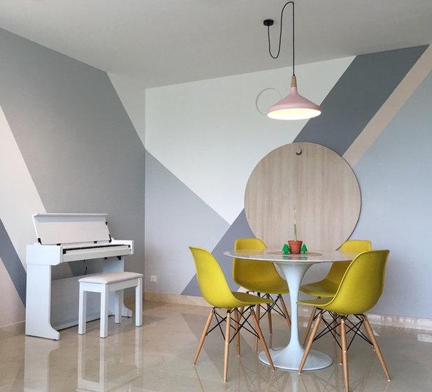 Scandinavian Dining Room by JQ Ong