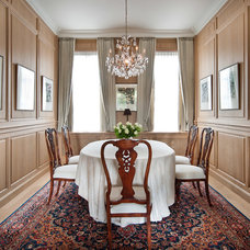 Traditional Dining Room by LEFEVRE INTERIORS