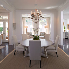 Traditional Dining Room by The French Mix Interior Design