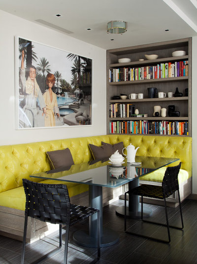 Contemporary Dining Room by amanda nisbet