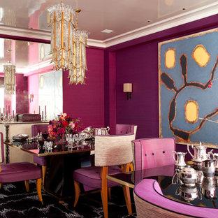 Выдающиеся фото от архитекторов и дизайнеров интерьера: столовая в современном стиле