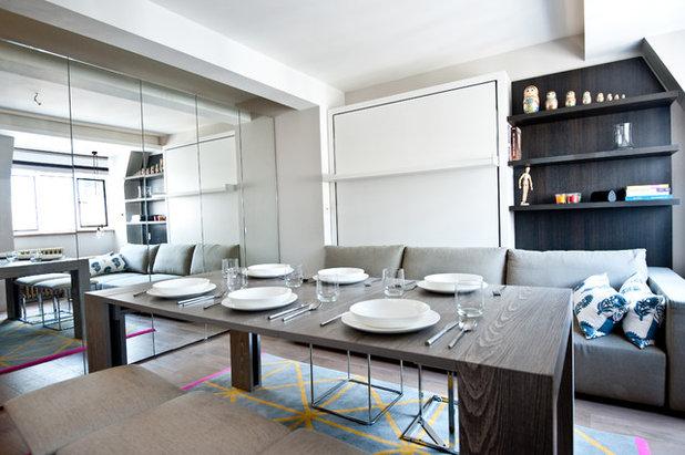 Große Stadt, Kleine Wohnung: 4 Beispiele Für Viel Platz Auf Wenig Raum Interieur Design Wohnungen Wenig Platz