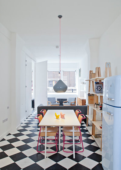 Scandinavian Dining Room by RUSSIAN FOR FISH