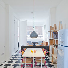Contemporary Dining Room by Russian For Fish