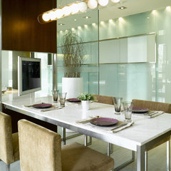 modern dining room by CL3