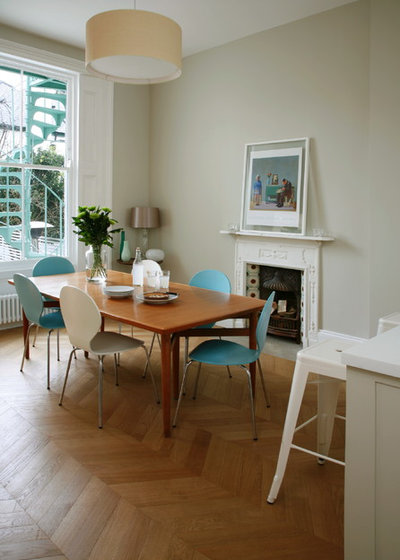Contemporary Dining Room by Higham Furniture