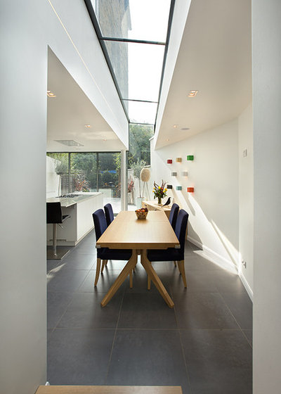 Architecture Inspiring Ideas for Side Return Glazing : 1df1fad404fe00b25566 w400 h560 b0 p0 dining room from www.houzz.co.uk size 400 x 560 jpeg 25kB