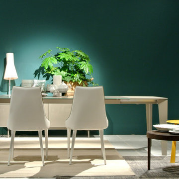 Clara Leather Dining Chair by Bontempi Casa