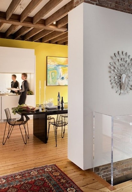 Contemporary Dining Room by Stern McCafferty