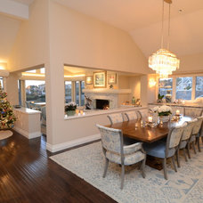 Traditional Dining Room by Skyline Kitchen & Bath
