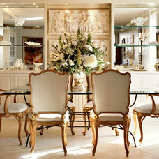 Traditional Dining Room by The Interior Edge
