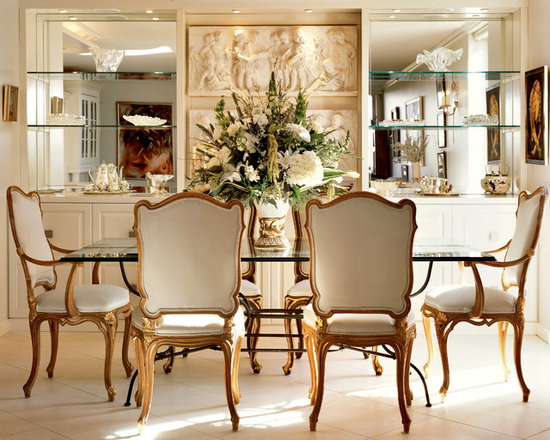french style dining room | houzz