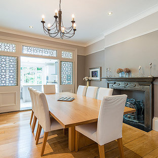 Classic contemporary Edwardian dining room