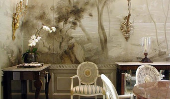 Classic dining room mural