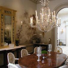 Traditional Dining Room by Art Studio Sergey Konstantinov