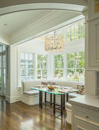 Traditional Dining Room by Jan Gleysteen Architects, Inc