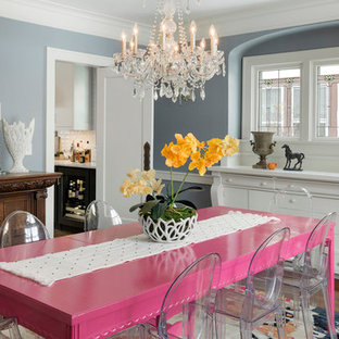 Best 70 Eclectic Dining Room Ideas | Houzz