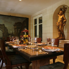 Traditional Dining Room by White Webb