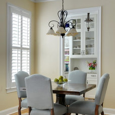 Traditional Dining Room by Pat Shankle