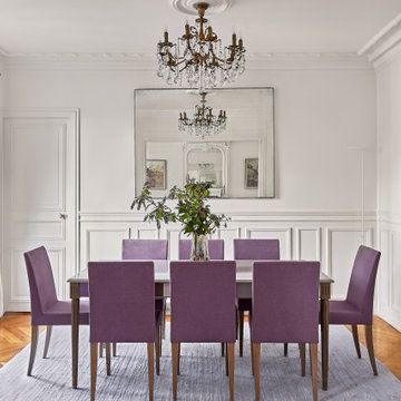 A Classic and Luxurious Parisian Apartment in Rue de Grenelle