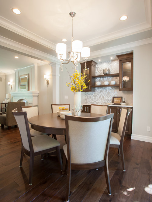 medium sized dining room design ideas renovations photos