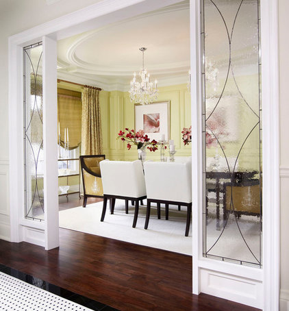Traditional Dining Room by Regina Sturrock Design Inc.