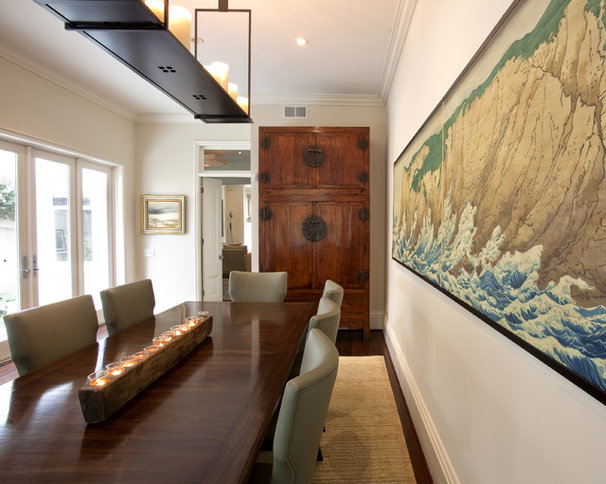 Contemporary Dining Room by Holly A. Kopman Interior Design