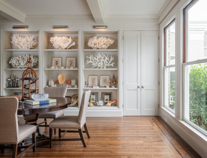 Traditional Dining Room by Sutro Architects